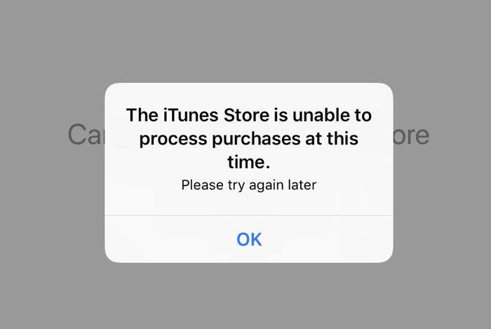App Store Experiencing Issues With Customers Unable to