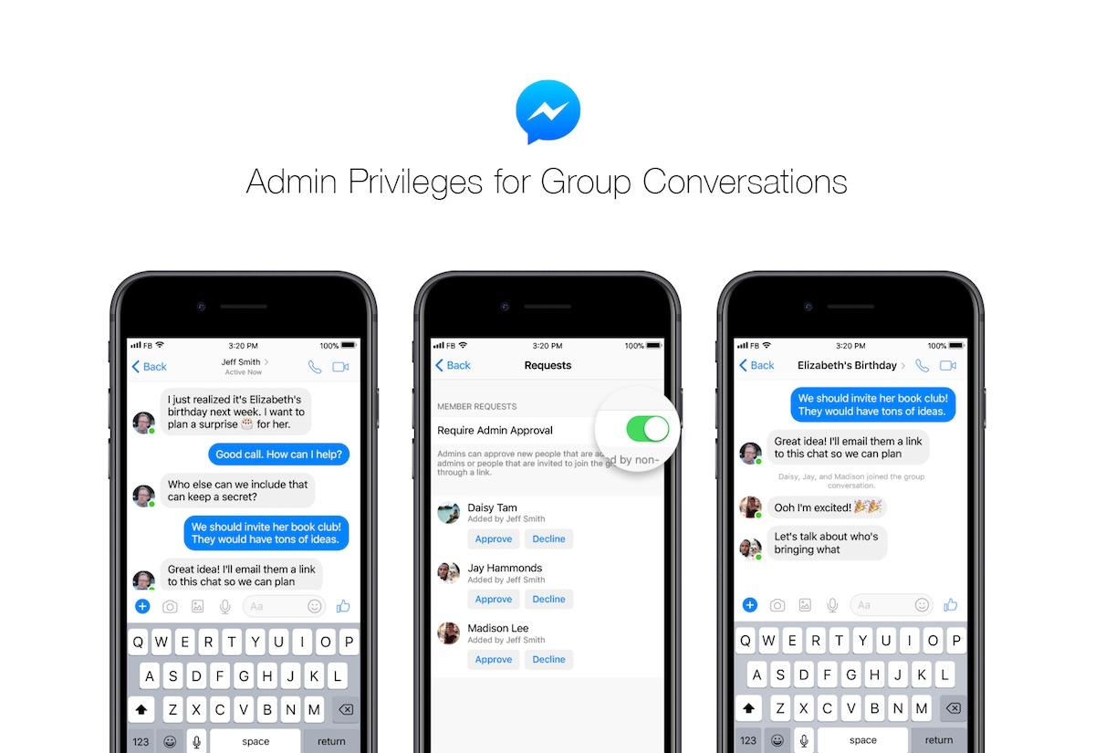 Facebook Messenger Adds New Admin Privileges Amid Backlash