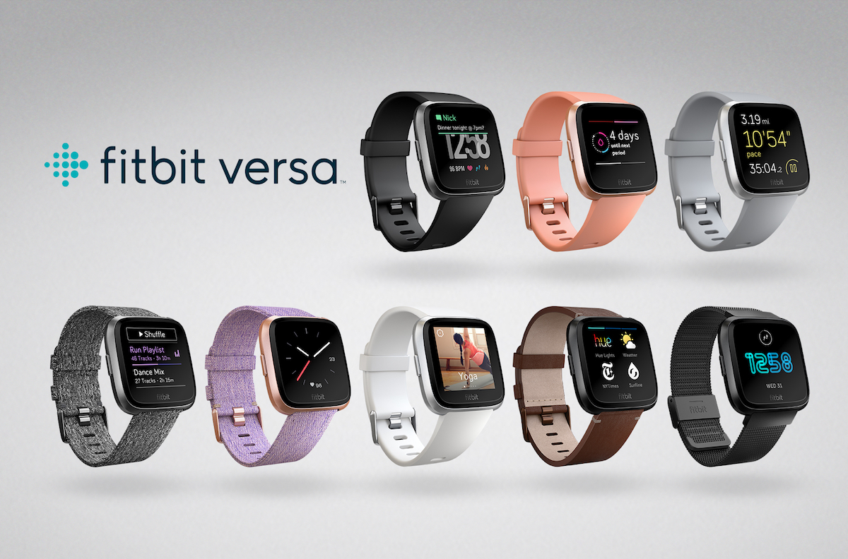 photo image Fitbit Announces New Apple Watch Rival 'Versa' and Kid-Friendly 'Ace'