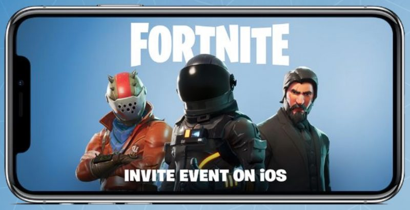 Fortnite Battle Royale for iPhone and iPad Coming Soon