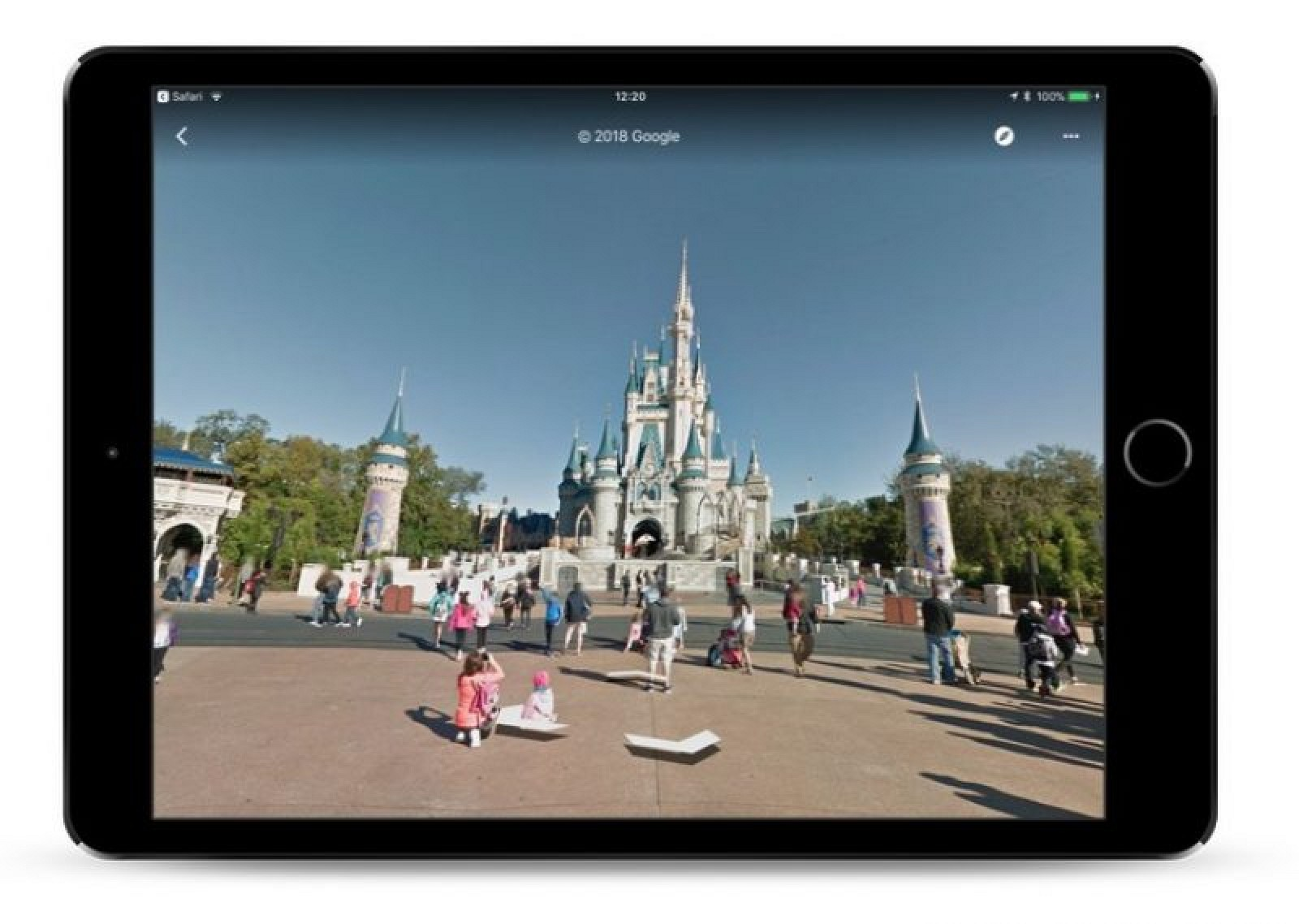 Google maps adds 11 disney parks to street view mac rumors gumiabroncs Gallery