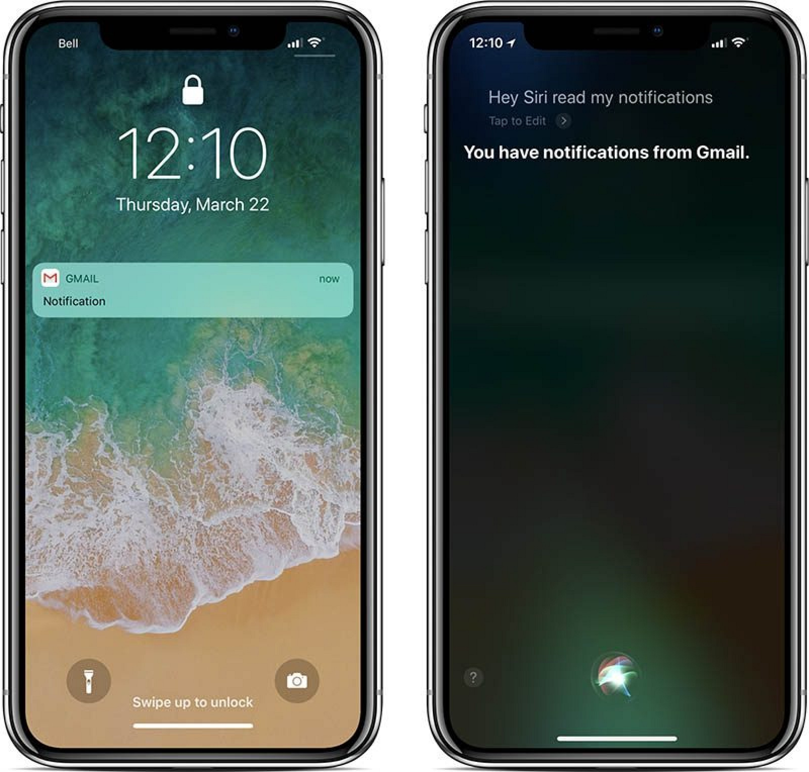 screen lock iphone apple to prevent siri from reading notifications on 12920