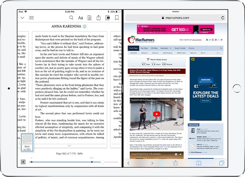 Amazon Kindle App for iOS Gains Support for iPad's Split