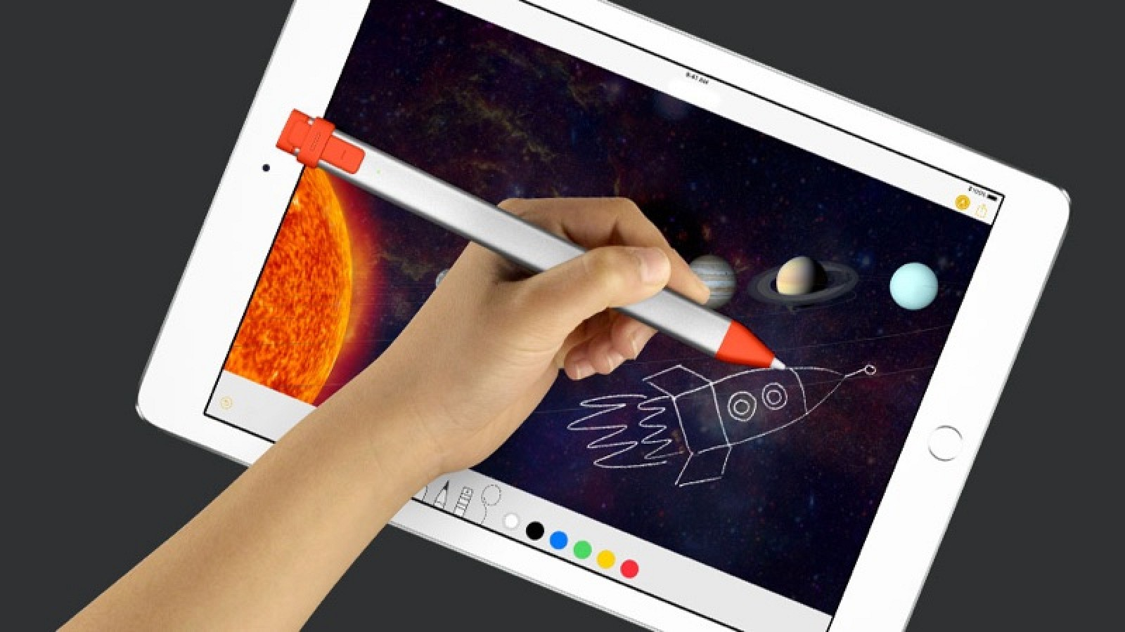 86af05d0e5e Logitech Announces $49 Crayon Stylus and $99 Rugged Combo 2 Case for  9.7-Inch iPad - MacRumors