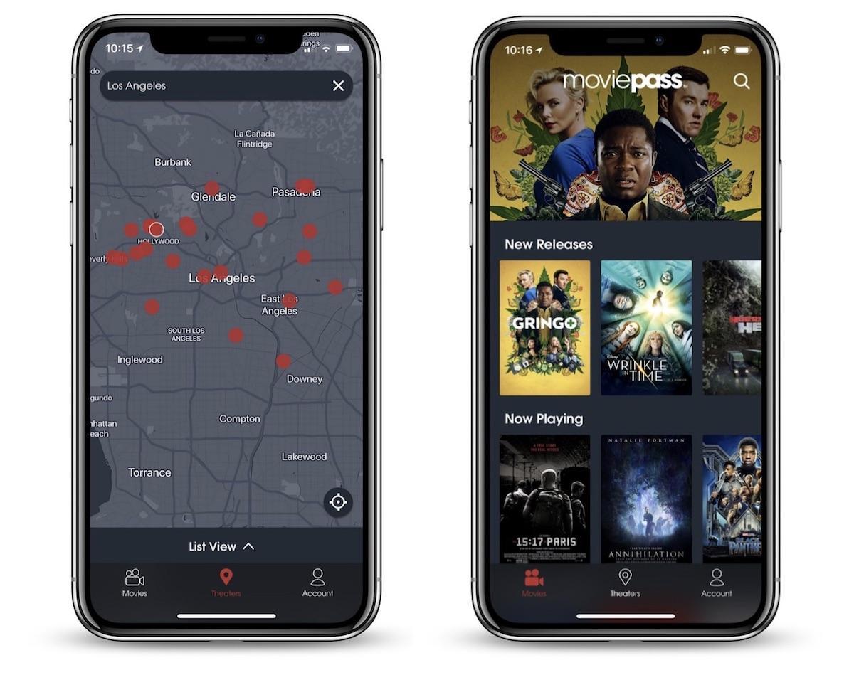 moviepass app not working iphone