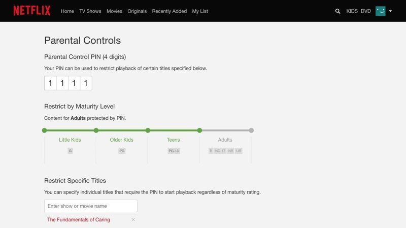 Netflix Gaining Expanded Parental Controls, More Prominent