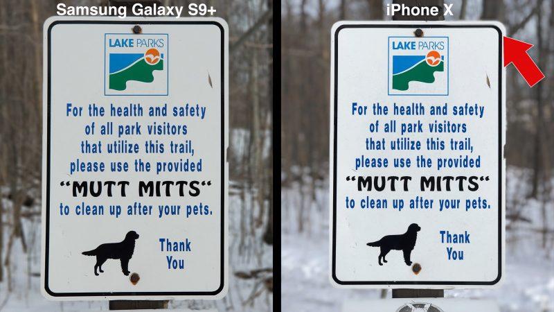 samsungiphoneportraitcomparison 800x450 - Samsung's Galaxy S9 vs Apple's iphone X;Camera Test