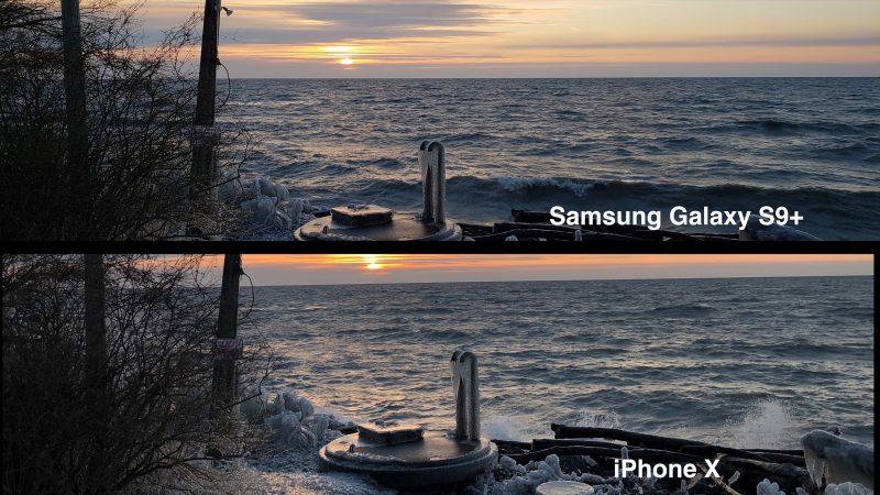 samsungiphonesunset 800x450 - Samsung's Galaxy S9 vs Apple's iphone X;Camera Test