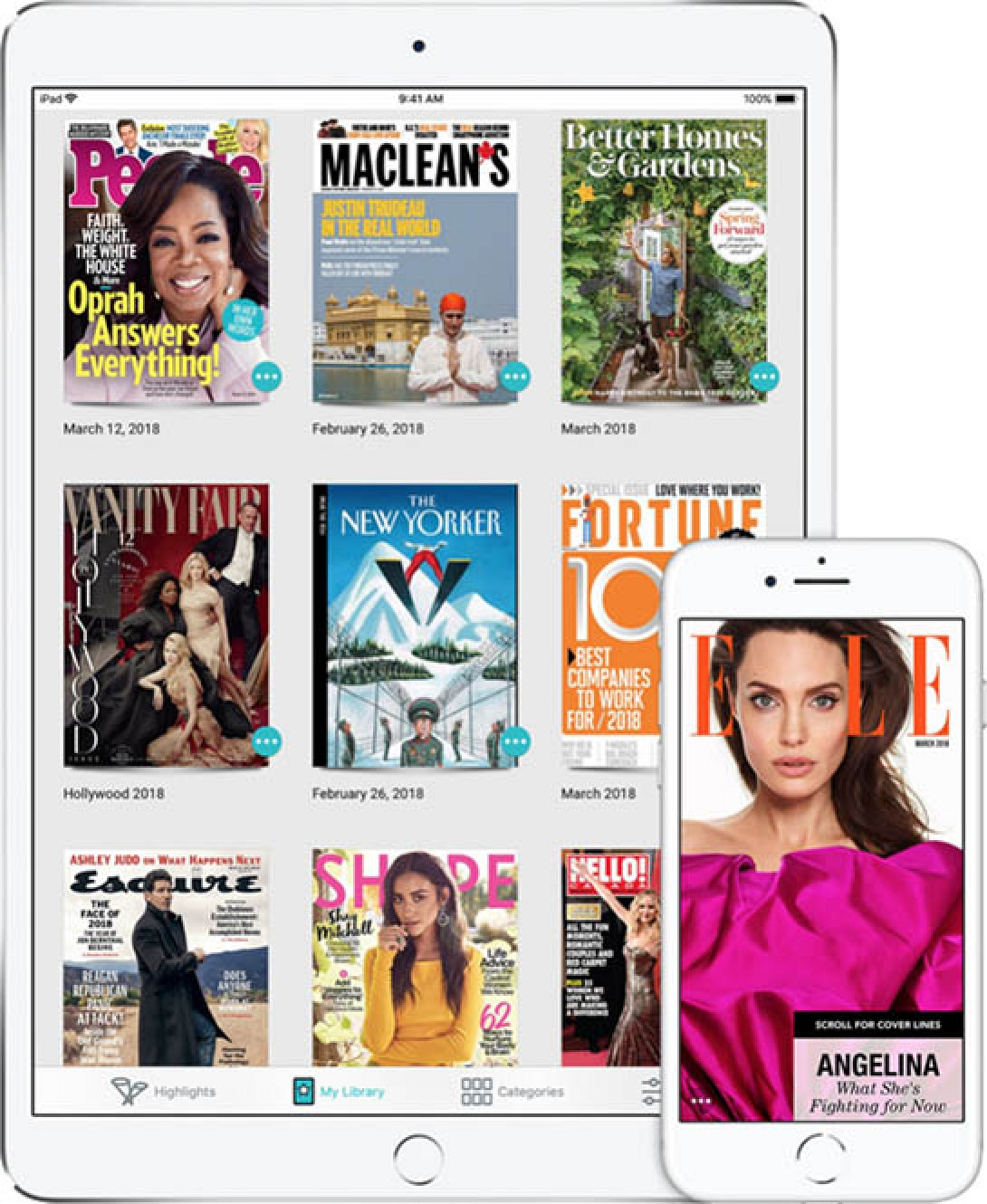 photo image Magazine Publishers Support Apple's 50% Split for Paid Apple News Service