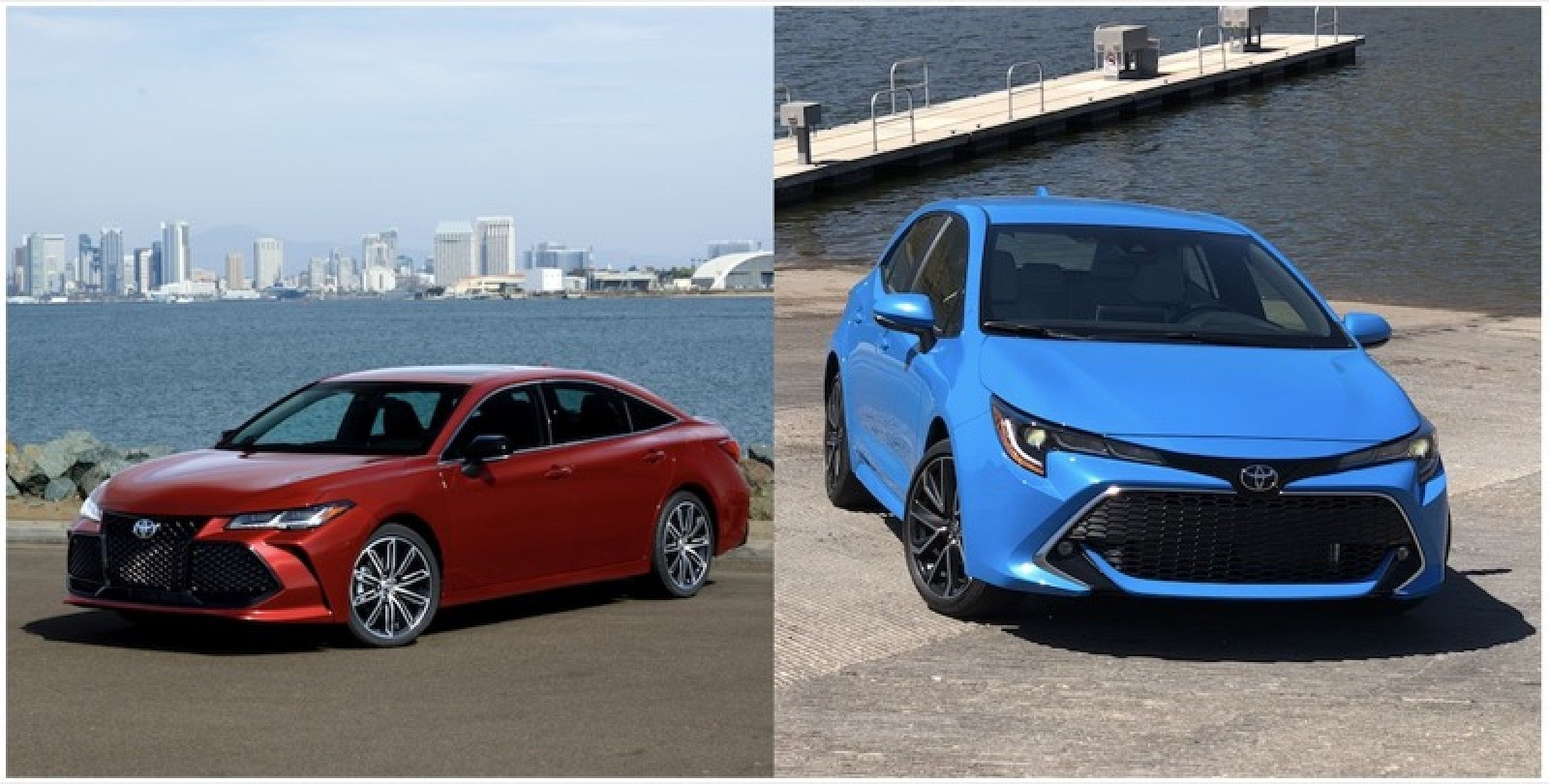 Toyota Brings Carplay Le Watch Support Qi Charging And More To 2019 Avalon Corolla Hatchback