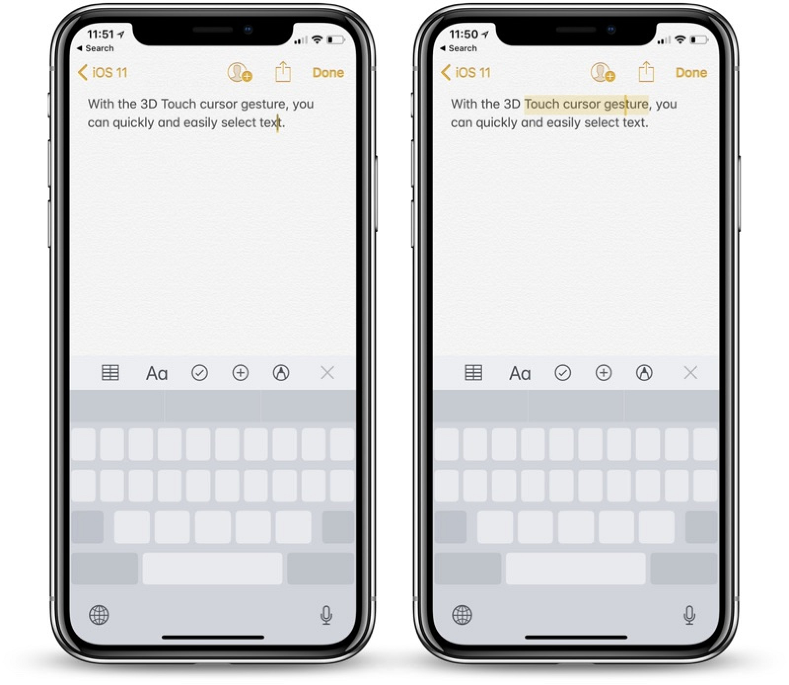 Most Useful 3D Touch Gestures On IPhone