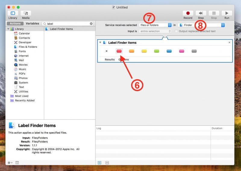 How To Apply Color Tags To Items In Macos Finder Using Custom