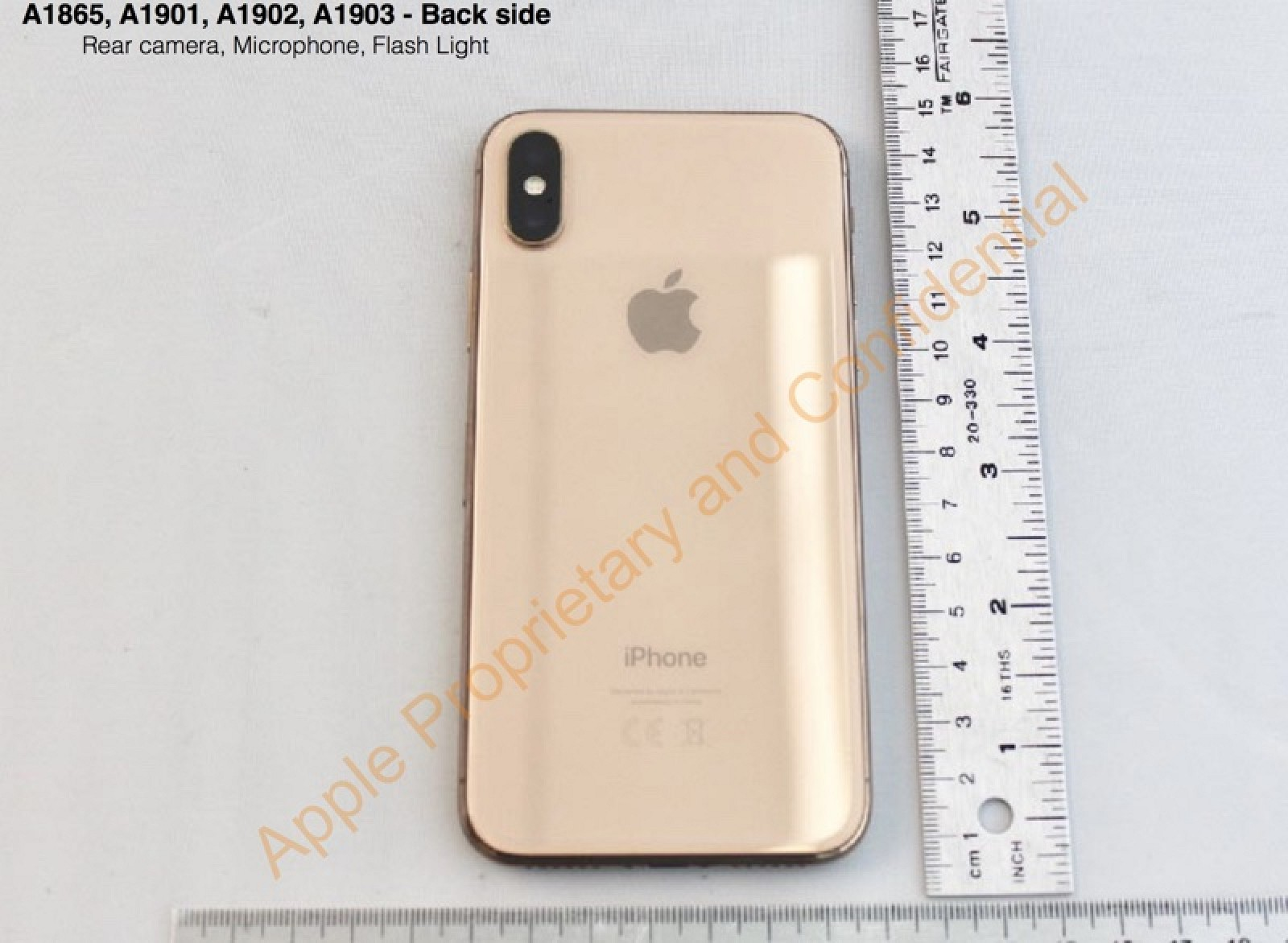 photo image FCC Filing Confirms Apple Planned on Launching Gold iPhone X