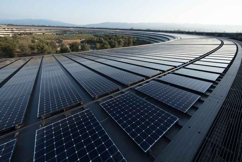 Apple Now Powered By 100 Percent Renewable Energy