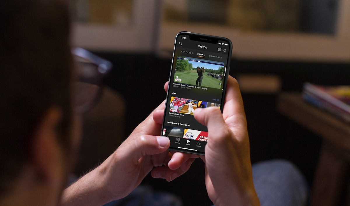 ESPN+ Streaming Service Launches in Redesigned ESPN App for iPhone