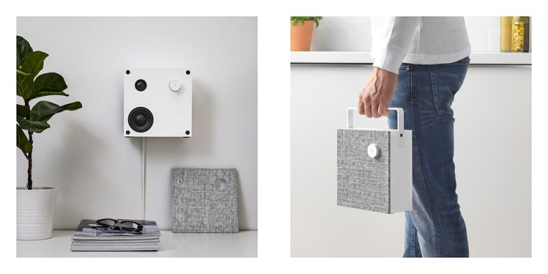 IKEA Unveils Minimalist 'Eneby' Line of Bluetooth Speakers