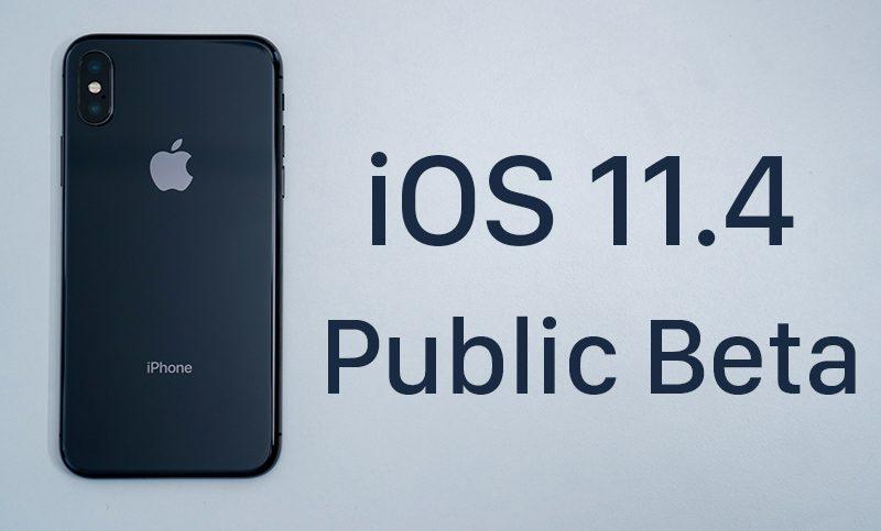 beta ios 11.4