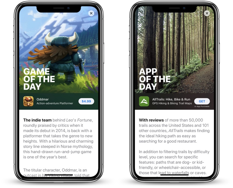 Featured Apps in Revamped iOS 11 App Store Can See 800% Download
