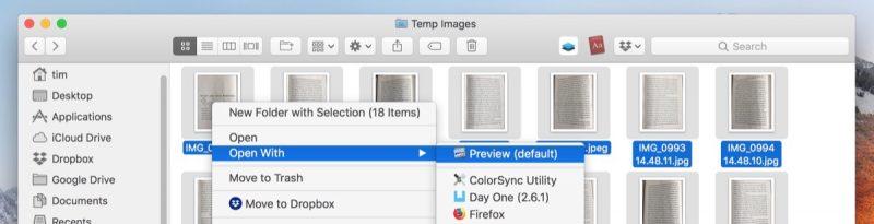 photos into pdf
