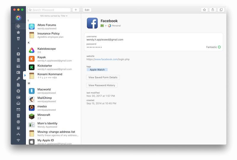 1Password 7 for Mac Launching Today With Redesigned Sidebar, Easier