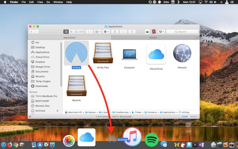 How to Add an AirDrop Shortcut to Your Mac's Dock - MacRumors