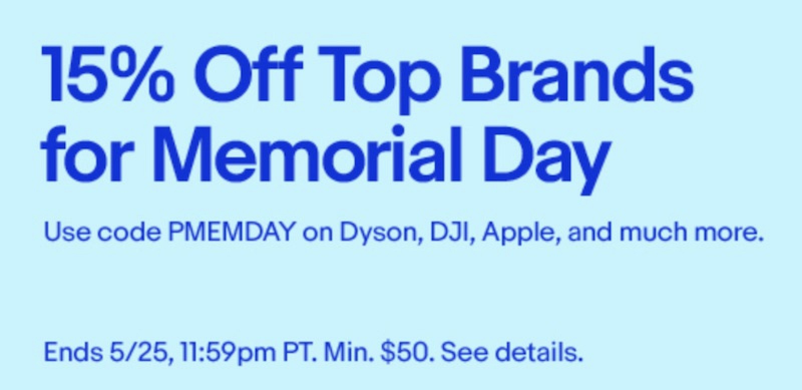 deals ebay 15 off memorial day coupon anker and koogeek amazon sales and more macrumors. Black Bedroom Furniture Sets. Home Design Ideas