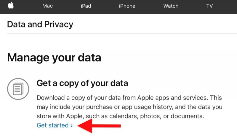 How to Request a Copy of Your Apple ID Account Data - MacRumors