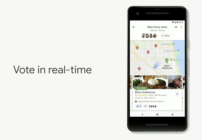 Google Maps Gaining AR Street View, 'For You