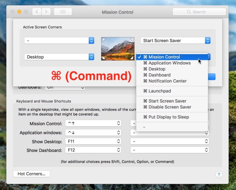 How to Tame macOS Hot Corners Using Modifier Keys - MacRumors