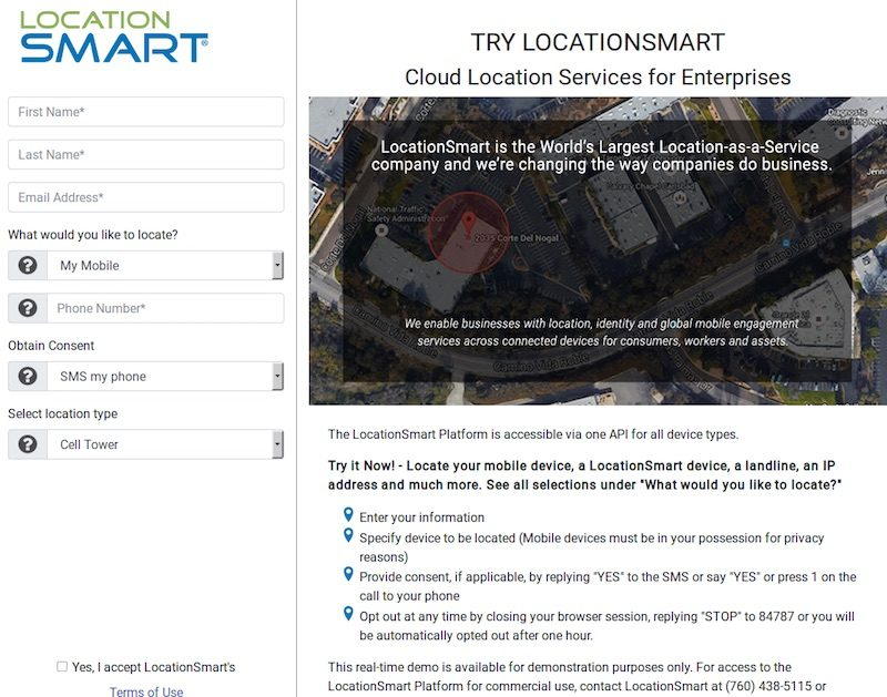 LocationSmart Bug Provided Easy Access to Real-Time Location Data of