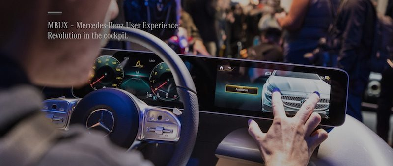Mercedes-Benz's New MBUX System Will Feature Wireless