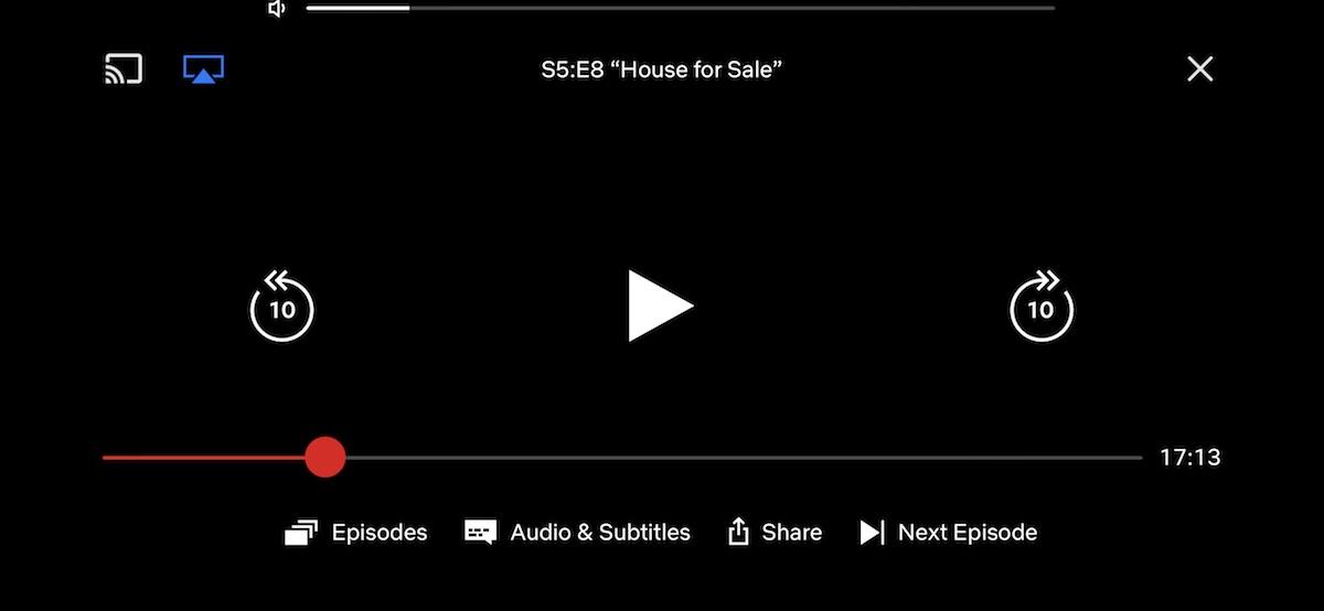 Netflix iOS App Gains Unobtrusive Volume Indicator and 10