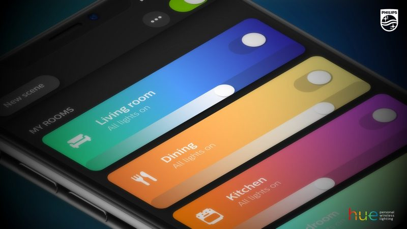 Philips Hue 3.0 App Update Brings Overhauled Interface, Picture-to-Light Feature, and 30 New Scenes