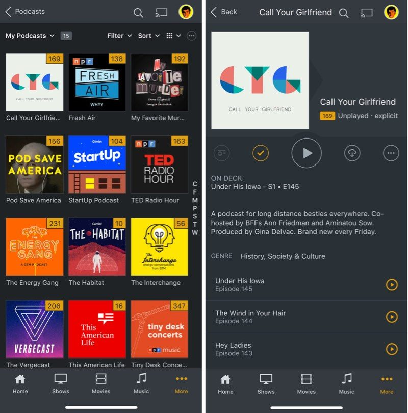 Plex Launches a New Podcasts Beta, Revamps Mobile Apps - MacRumors