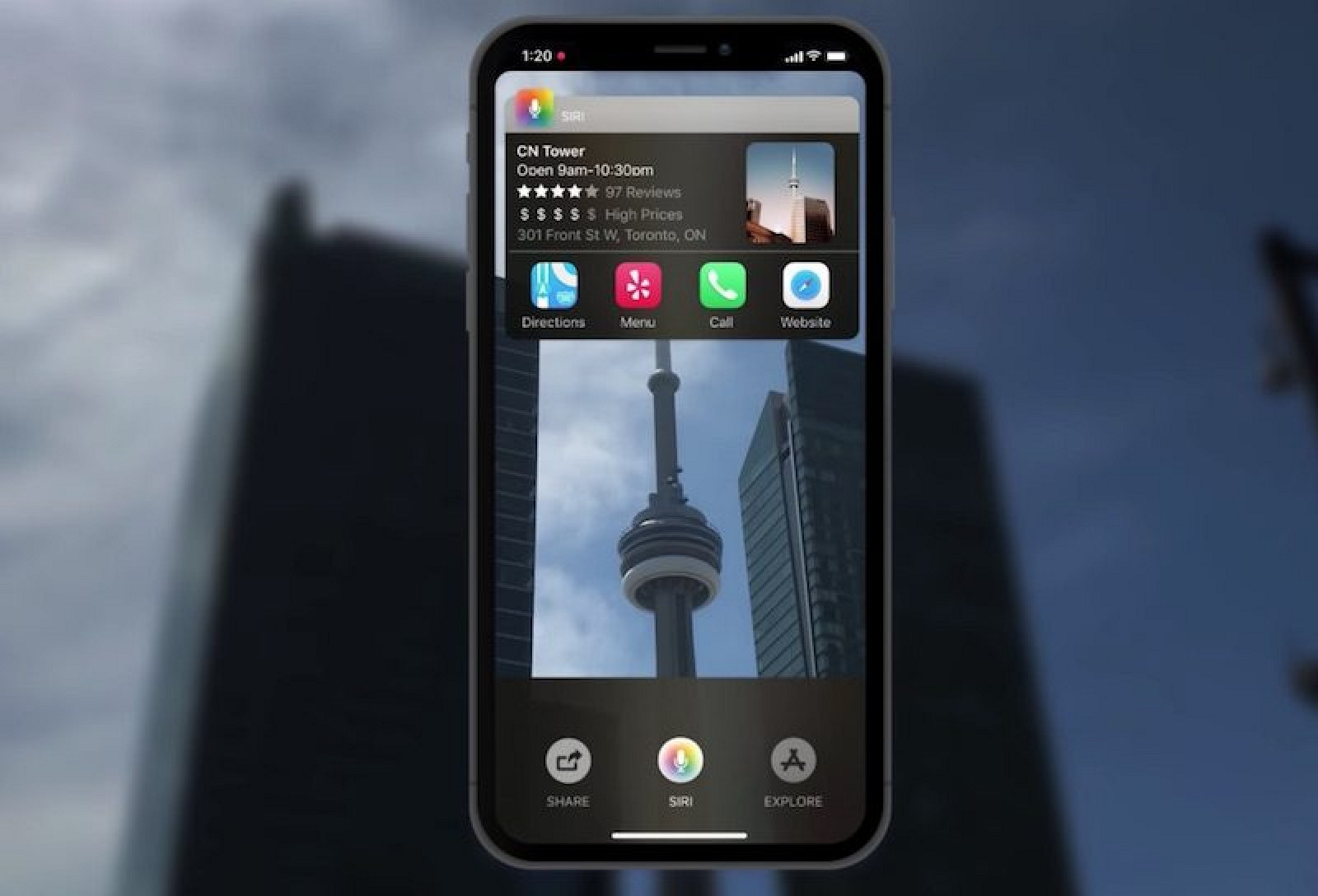 iOS 12 Concept Augments the World with New 'Siri Sight' Mode