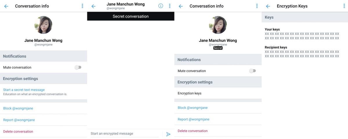 Twitter Testing 'Secret Conversation' Feature for Sending