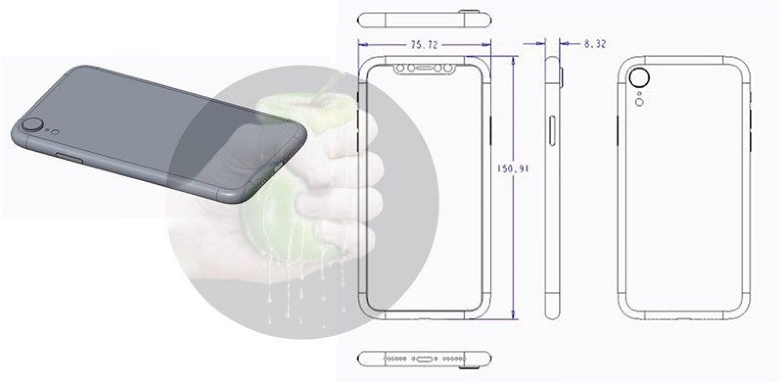 Schematics And Renderings Depict Apples 2018 Iphone Lineup Macrumors 3 Circuit Diagram