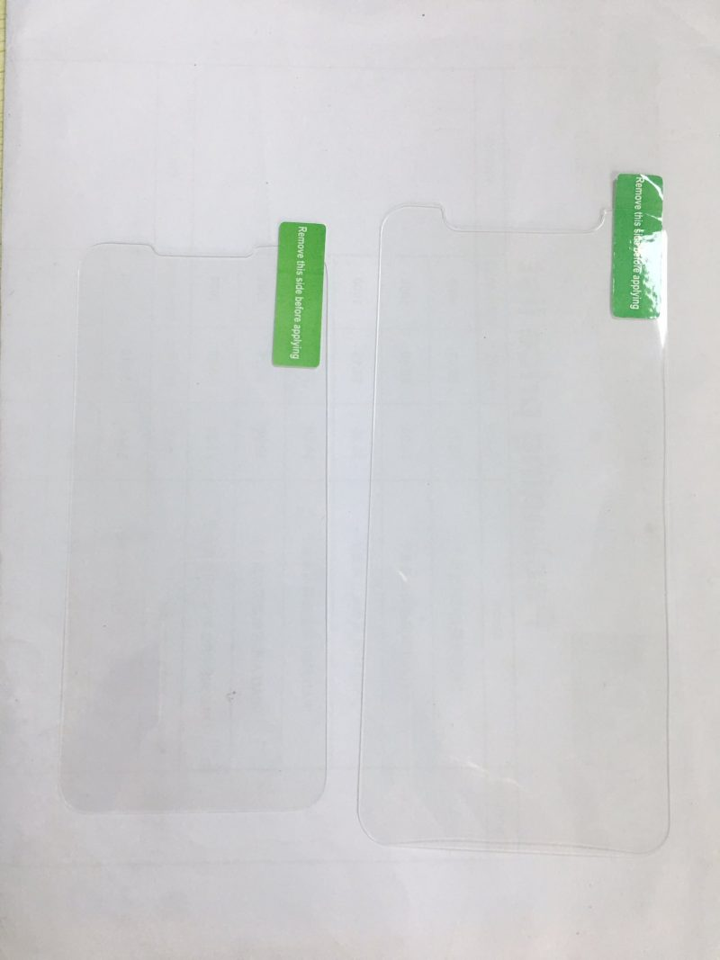 Sonny Dickson, known for sometimes leaking iPhone components, shared what he says is an iPhone SE 2 screen protector next to a screen protector for the ...