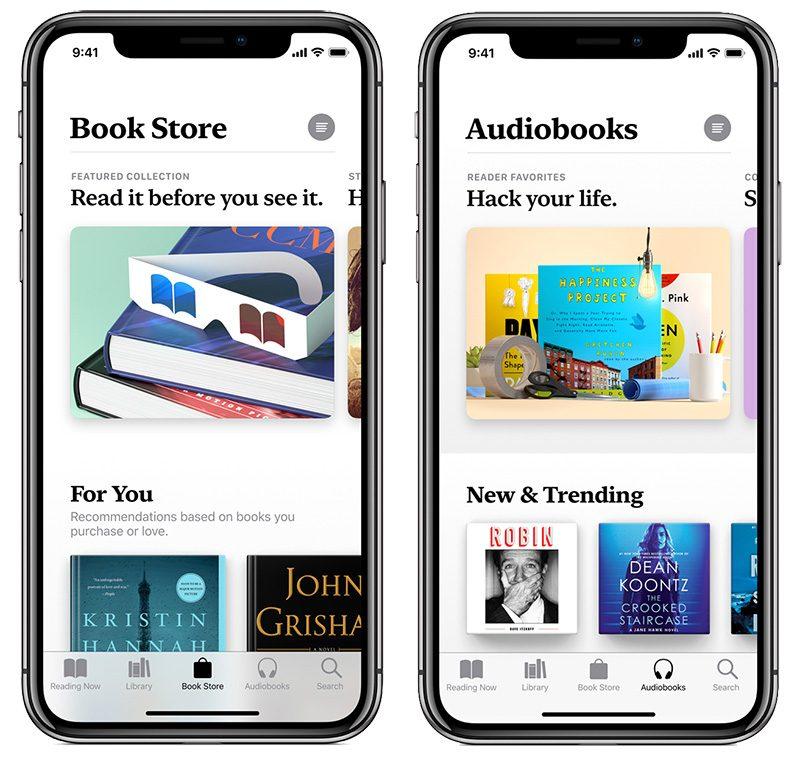 Apple Previews Redesigned Books App Coming in iOS 12 - MacRumors