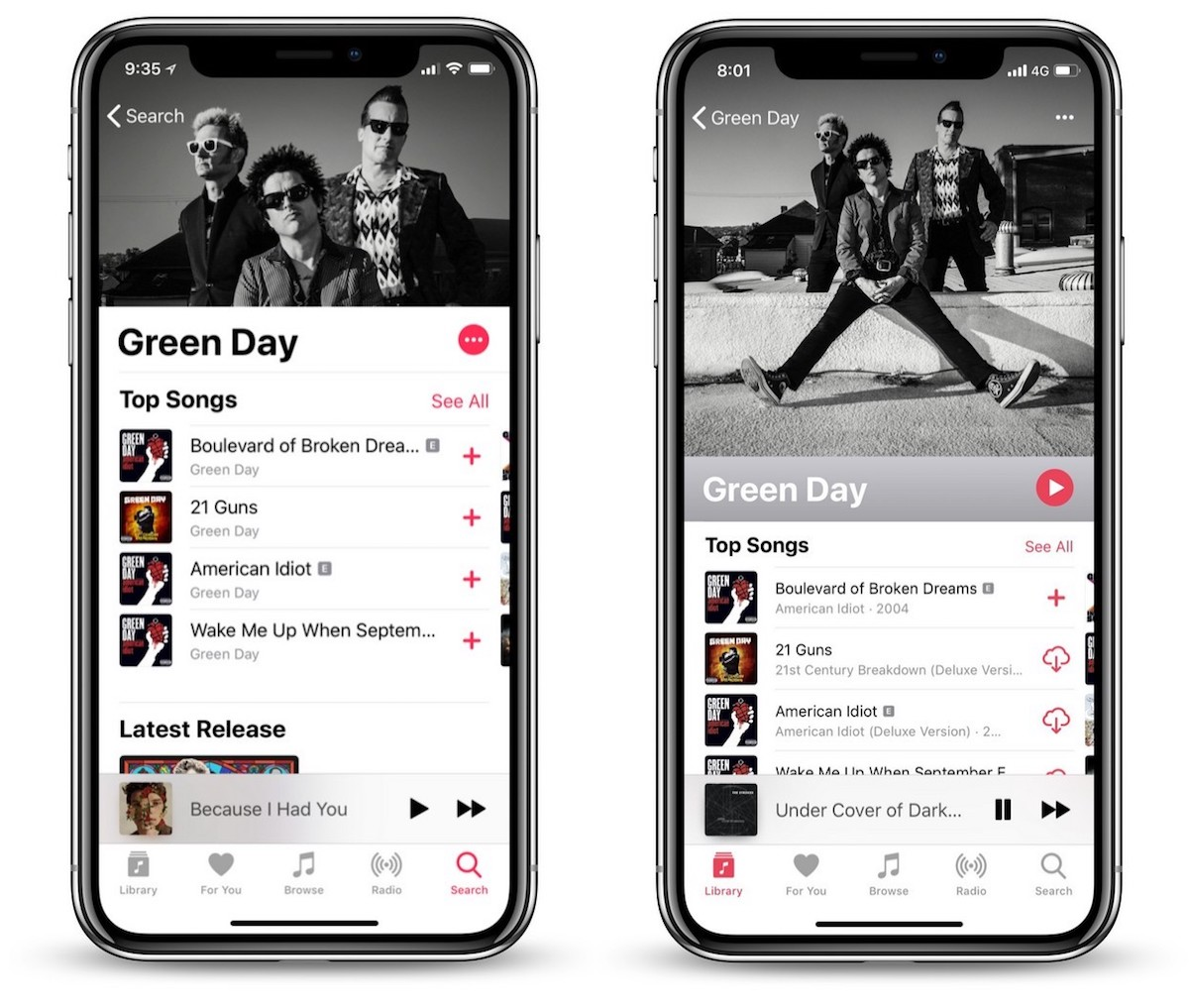 Apple Music Artist Profiles Get Redesign In Ios 12 Beta With