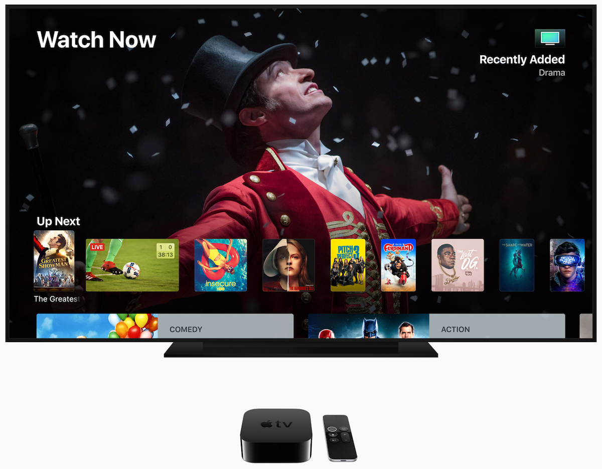 Apple Reveals tvOS 12 With Dolby Atmos Support for Apple TV 4K
