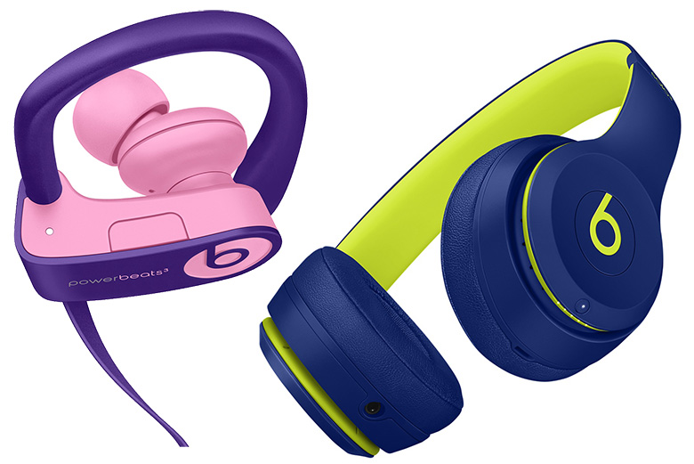 483c7614d2e Beats Solo3 and Powerbeats3 Wireless Headphones Get New Pop Collection of  Colors