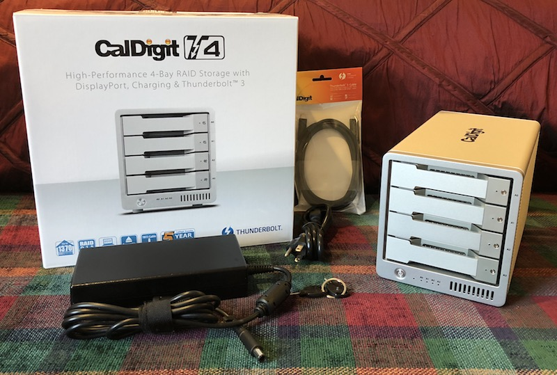 Review CalDigits T RAID Offers Lots Of Fast Storage Thunderbolt - Minecraft hexxit server erstellen ohne hamachi
