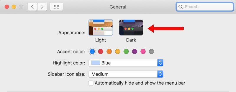 How to Enable Dark Mode in macOS Mojave - MacRumors