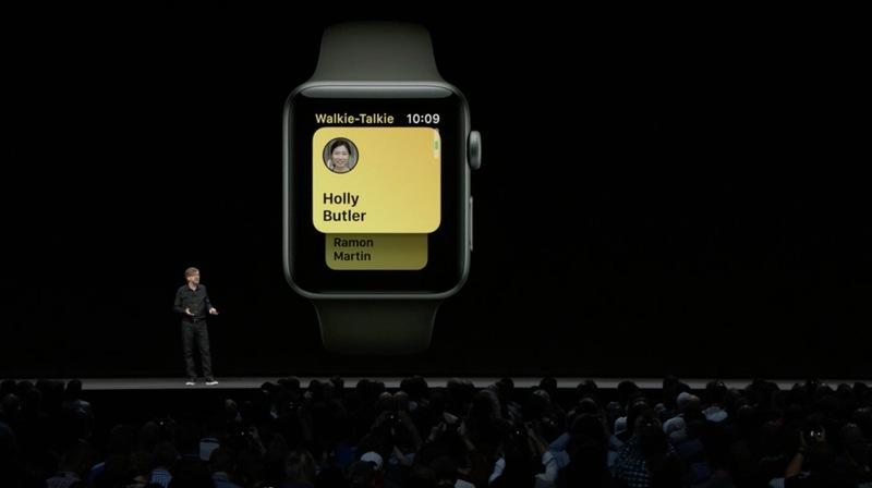 Apple Watch Gaining New 'Walkie-Talkie' App in watchOS 5 so You Can