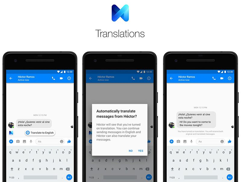 Facebook Messenger Expanding Chat Translation to All Users