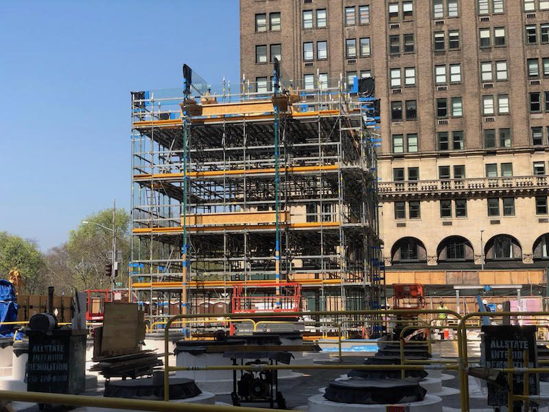 23545978469 Apple reinstalling its glass cube on Fifth Avenue via MacRumors reader  David Bills. Other regional stores closed for renovations include locations  in ...