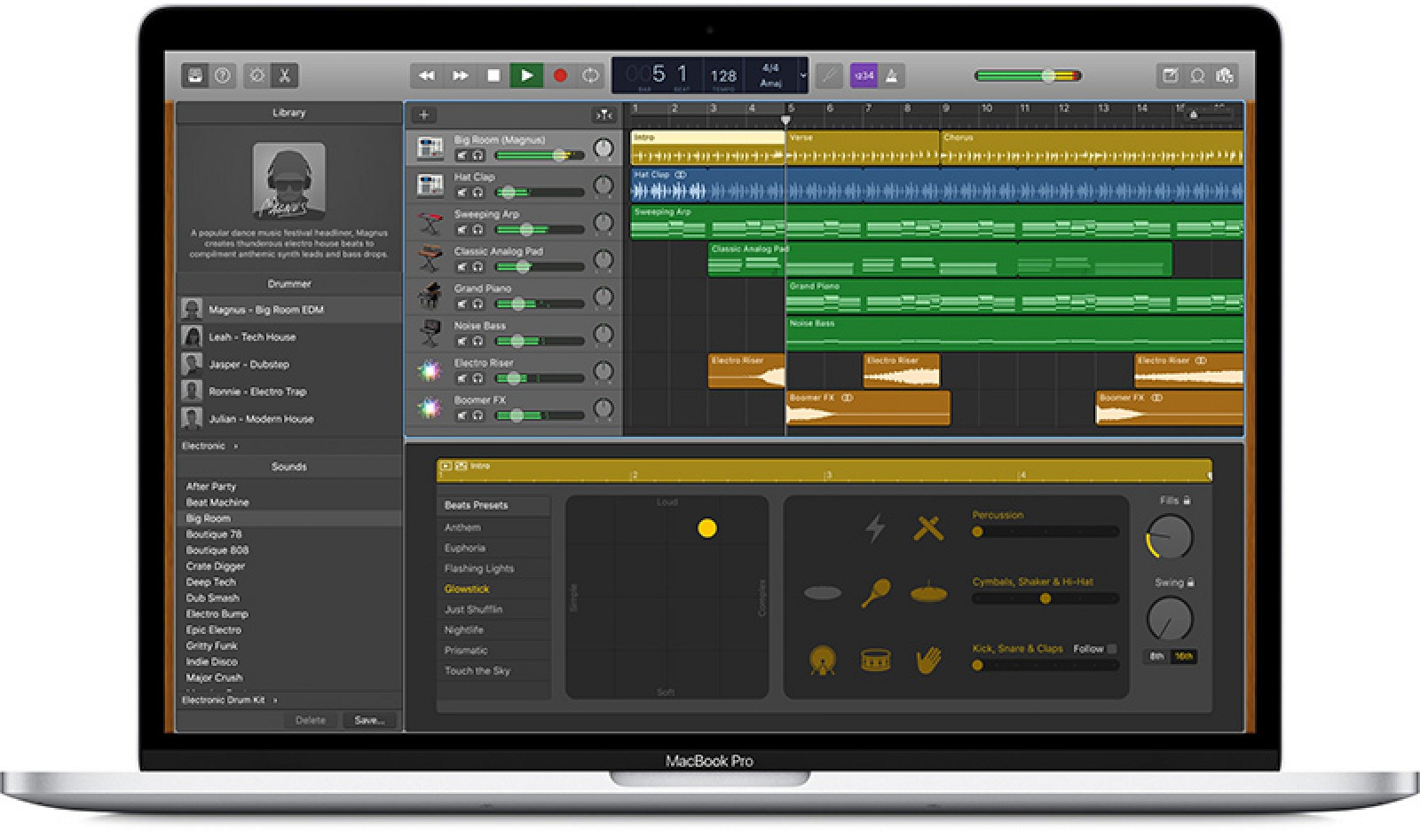 GarageBand for Mac Updated With New Drummers, Loops, Sound Effects