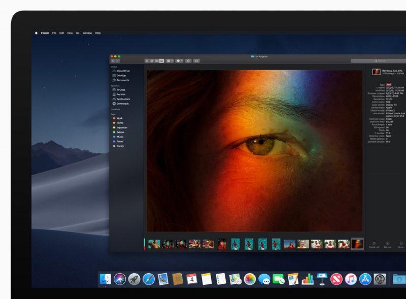 Apple Announces macOS 10 14 Mojave, Featuring New Dark Mode, Desktop