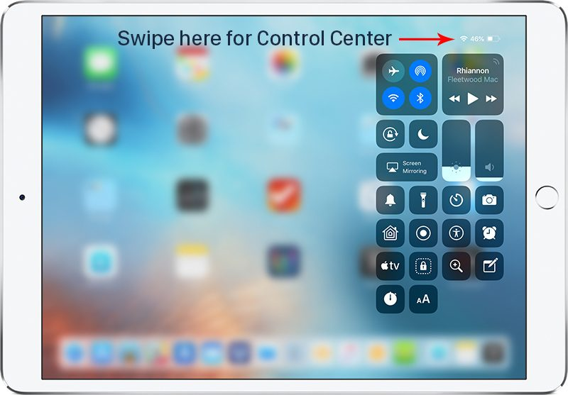 How to Access Control Center and Home Screen in iOS 12 With